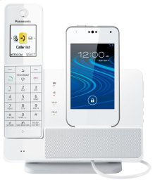 Link2Cell Digital Phone with Smartphone Integration and Answering Machine KX-PRD260W- 1 Handset