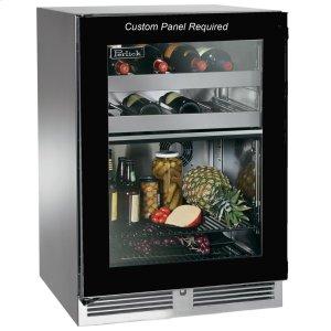 "Perlick24""Outdoor Dual-Zone Refrigerator/Wine Reserve"
