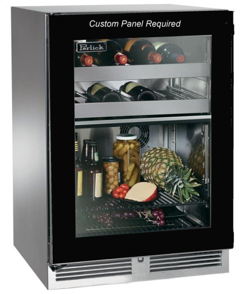 "24""Outdoor Dual-Zone Refrigerator/Wine Reserve"