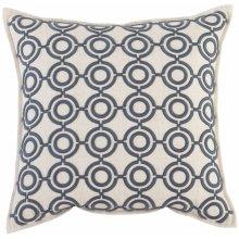 "Luxe Pillows Circular Links (22"" x 22"")"