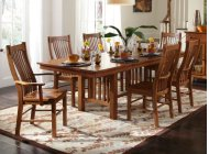 7 PIECE SET INCLUDES TABLE W/ 2 ARMS CHAIRS AND 4 SIDE CHAIRS