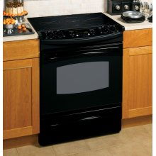 "GE Profile 30"" Slide-In Electric Range"