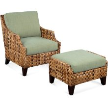 Morris Chair and Ottoman