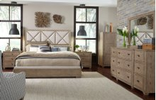 Bridgewater Upholstered Bed, CA King 6/0