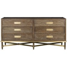 Lafayette Six Drawer Chest 9777D