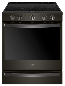 6.4 cu. ft. Smart Slide-in Electric Range with Scan-to-Cook Technology