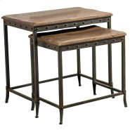 Trenton 2Pc Nesting Tables in Distressed Pine Product Image