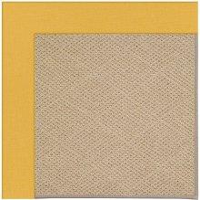 Creative Concepts-Cane Wicker Spectrum Daffodill Machine Tufted Rugs