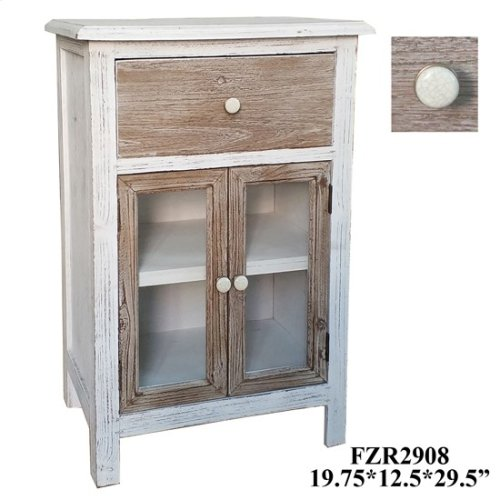 "19.75X12.5X29.5"" WOODEN CABINET, 1 PC PK, 5.75'"