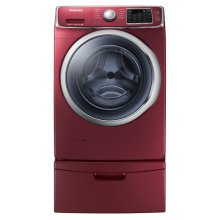 4.2 cu. ft. Capacity Front Load Washer with SuperSpeed (Merlot)