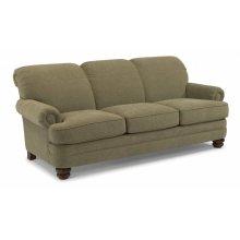 Bay Bridge Leather Sofa without Nailhead Trim