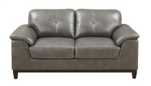 Loveseat Grey Pu