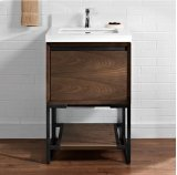 "m4 24"" Vanity - Natural Walnut Product Image"