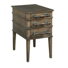 Side Table with Bar Pulls