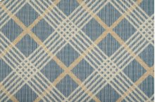 Sands Point Coastal Plaid Cstpl Surf/ivory-b 13'2''