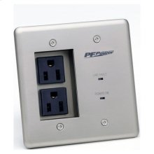 Max-In-Wall Power-Pro-PFP, (2) 15A OUTLETS, Surge Protection, EMI/RF Filtration
