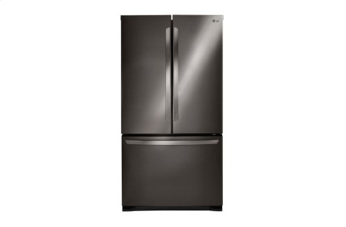 LG Black Stainless Steel Series 25 cu.ft. Mega Capacity 3-Door French Door Refrigerator