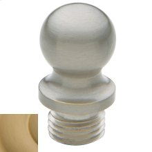 Vintage Brass Ball Finial