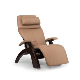 Perfect Chair PC-600 Omni-Motion Silhouette - Sand Top Grain Leather - Dark Walnut
