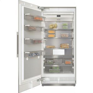 MieleF 2911 SF MasterCool freezer For high-end design and technology on a large scale.