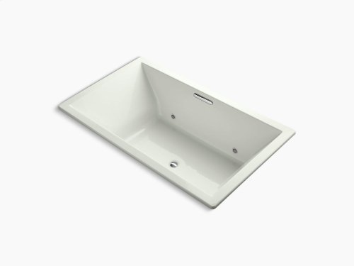 """Dune 72"""" X 42"""" Drop-in Vibracoustic Bath With Bask Heated Surface and Chromatherapy and Center Drain"""