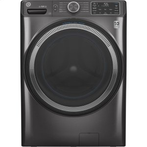 GE®4.8 cu. ft. Capacity Smart Front Load ENERGY STAR® Washer with UltraFresh Vent System with OdorBlock™