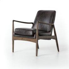 Braden Leather Chair-durango Smoke