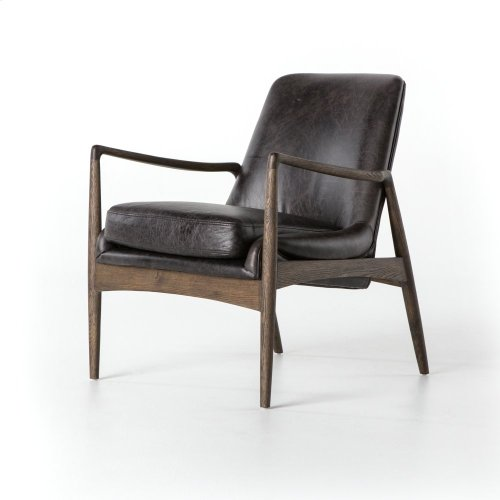 Durango Smoke Cover Braden Leather Chair