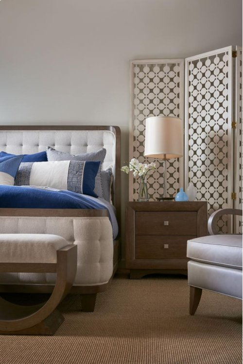 Anthony Baratta Luna Upholstered Bed (King)