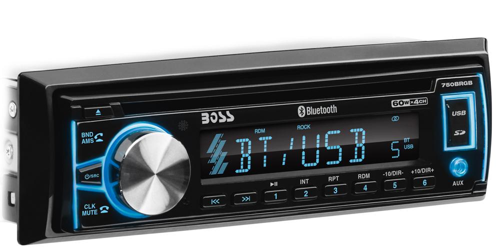 Single-DIN, CD/MP3 Player Detach Panel Bluetooth