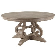 "60"" Round Dining Table"