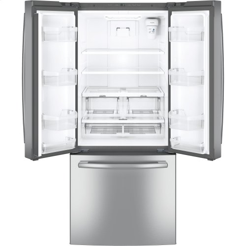 GE® ENERGY STAR® 20.8 Cu. Ft. French-Door Refrigerator