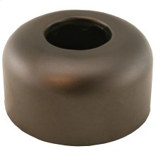 "Oil Rubbed Bronze Escutcheon 1-1/4"" Tubular Box Pattern 3"" OD"