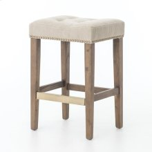 Counter Stool Size Desert Canvas Cover Aspen Grey Finish Sean Bar + Counter Stool