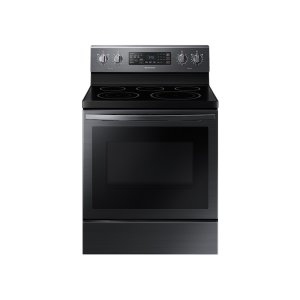 Samsung5.9 cu. ft. Freestanding Electric Range with Air Fry and Convection in Black Stainless Steel
