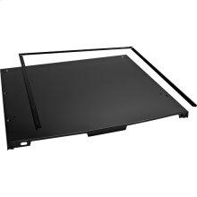 """4"""" Console Dishwasher Panel Kit - Black"""
