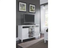 TV Stand in Beach White
