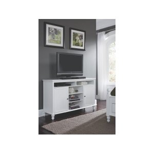 JOHN THOMAS FURNITURETV Stand in Beach White