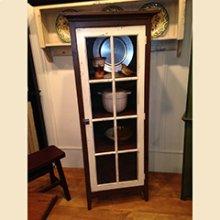 Glass Door Pantry