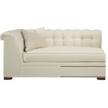 Kent Made To Measure Tufted Left-Arm Facing Corner Armless Sofa