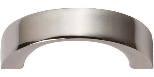 Tableau Curved Handle 1 7/16 Inch - Polished Nickel
