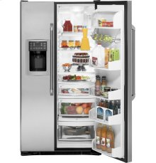 GE Cafe 25.4 Cu. Ft. Side-By-Side Refrigerator with Dispenser