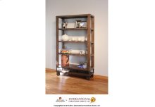 """70"""" Bookcase with 4 shelves & Casters"""