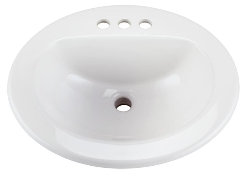 12834ch In White By Gerber In Raleigh Nc White Maxwell Oval 4