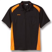 Look professional wearing this pocket polo!