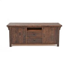 Oak Haven - 2 Drawer 2 Door TV Stand