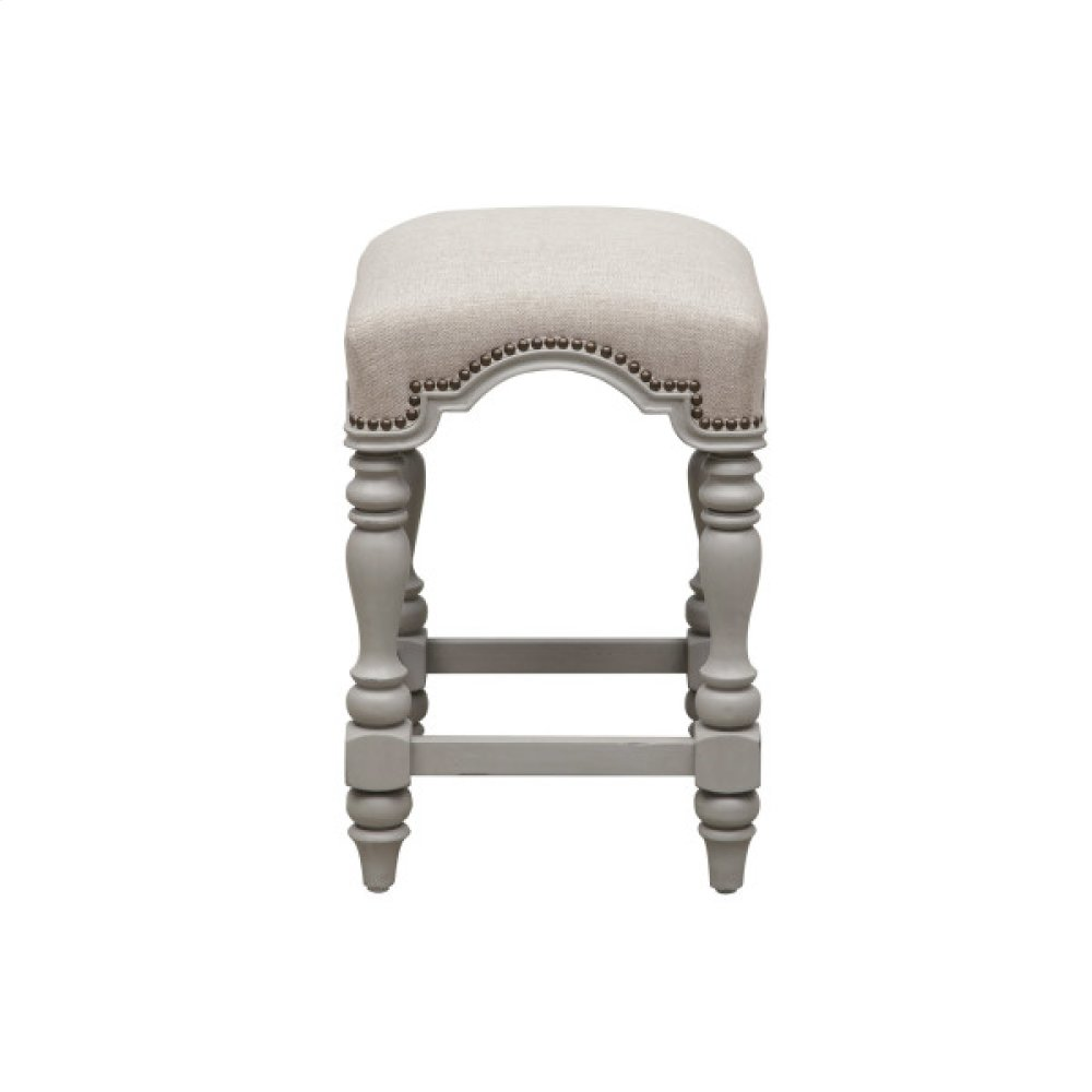 Simply Charming Backless Kitchen Stool