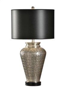 Carved Circles Lamp