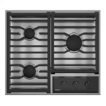 "24"" Transitional Framed Gas Cooktop"