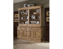 Open Hutch W/buffet